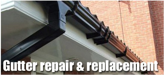 Gutter repairs and replacement London